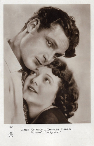 Janet Gaynor and Charles Farrell in Lucky Star (1929)
