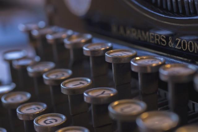 Typewriter - Schrijfmachine