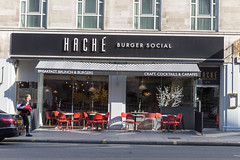 Hache Burger Lokal in London