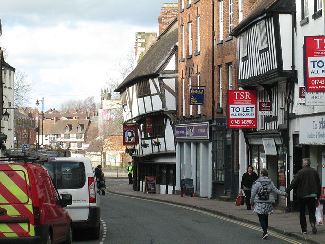 Shrewsbury buildings