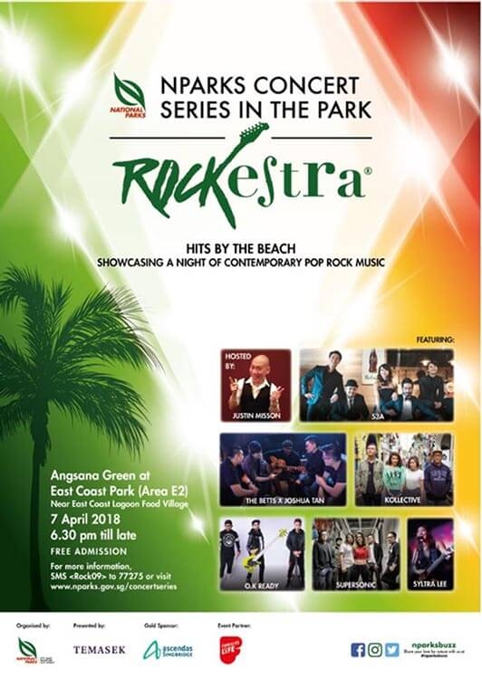 Rockestra at East Coast Park