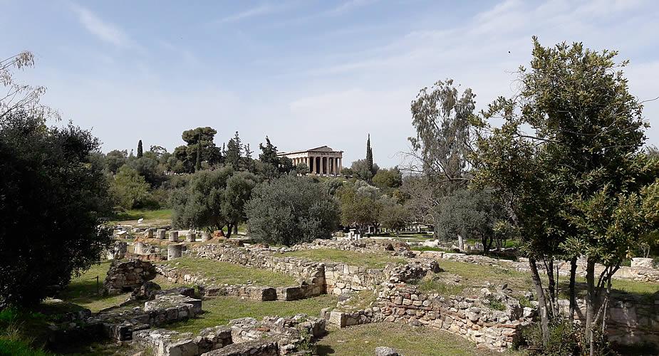 Weekendje Athene: Antieke Agora | Mooistestedentrips.nl