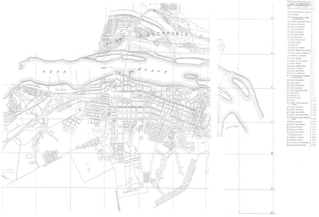 1929 план Днепропетровска (пока такой)