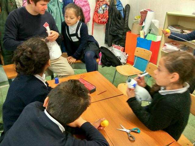 2017-2018. LH. Taller con los alumnos de Nazaret