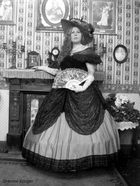 Victorian & Edwardian Shannon Kringen Black & White