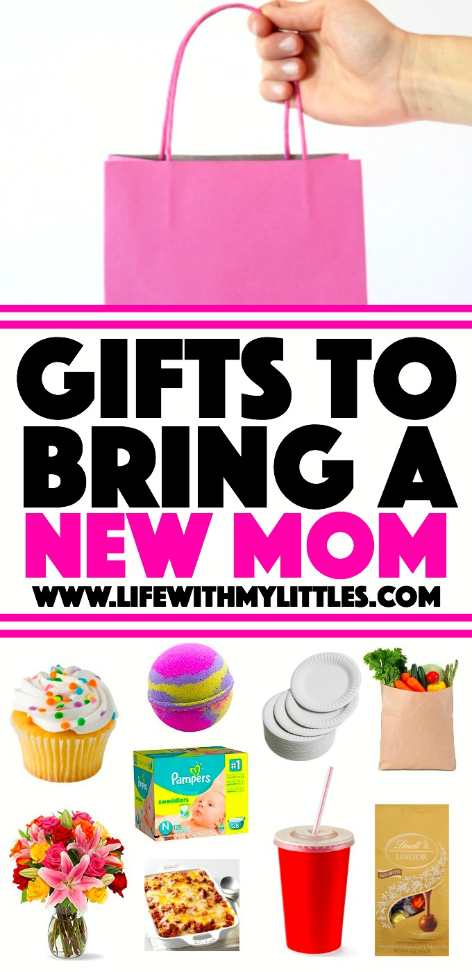 13 useful and unique gifts to bring a new mom, suggested by real moms! Such clever ideas! A must-read for anyone visiting a new mom!
