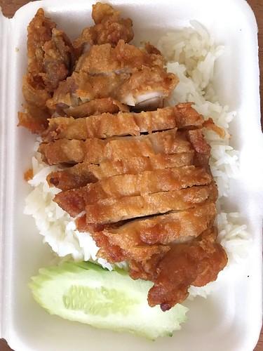 カオマンガイトート fried chiken rice
