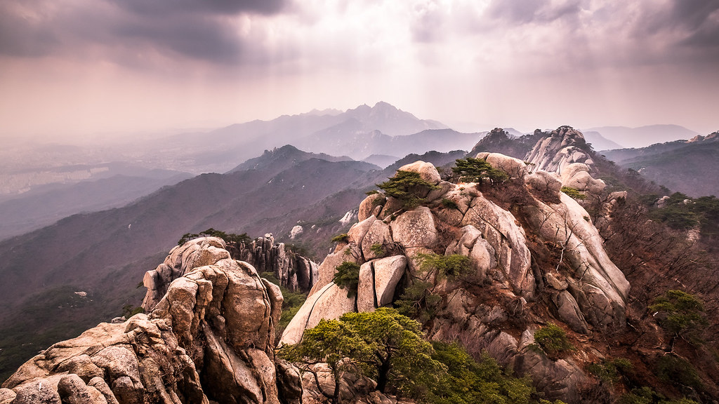 Dobongsan - Seoul, South Korea - Landscape photography