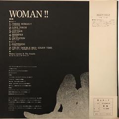 モニカ・ラッセンとザ・サウンズ:愛撫 WOMAN!!(JACKET C)