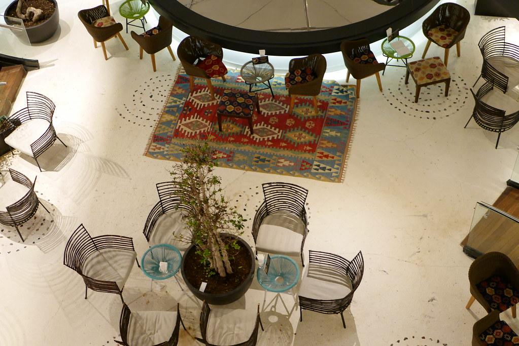 土航CIP Lounge俯视下层