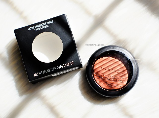 MAC Extra Dimension Blush Hushed Tone