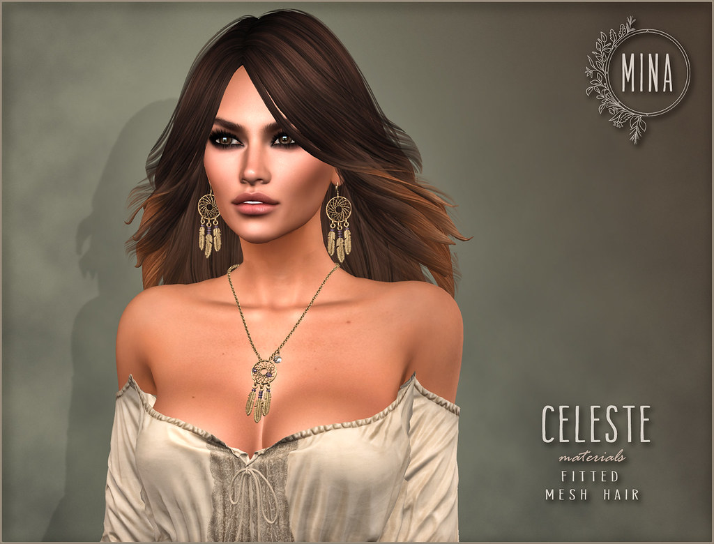 MINA Hair – Celeste for FaMESHed GO