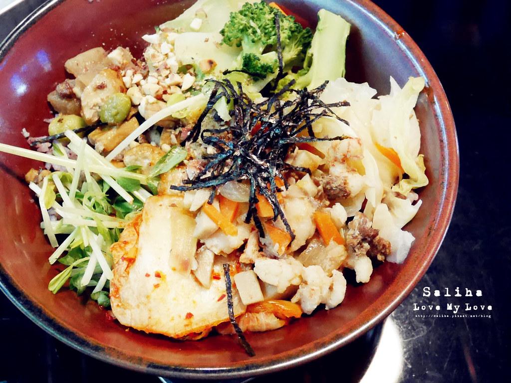 台北士林區天母ZABU食堂拌飯餐點午餐 (3)
