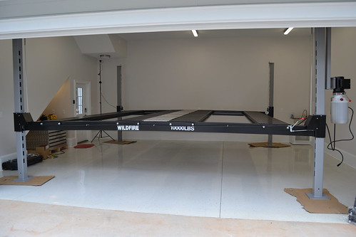 Wildfire 2-Car Lift Time Lapse Install Video & Review - The