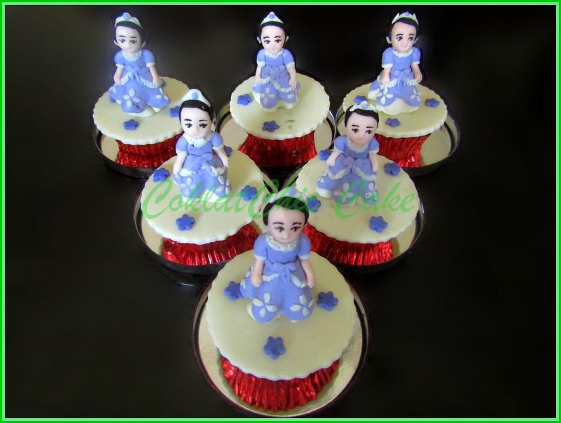 Cupcake tema Sofia