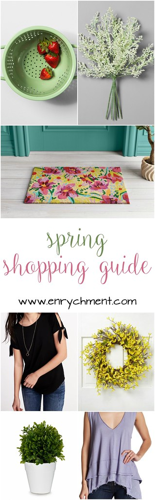 Spring Shipping Guide for your Wardrobe and Home! | www.enrychment.com