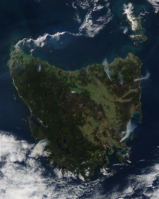 Prescribed Fires Light Up Tasmania