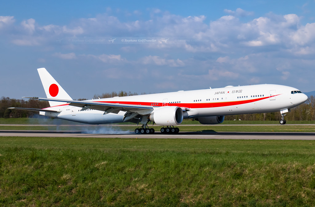N509BJ / 80-1111 Boeing 777-300ER JASDF - Japan Air Self-Defense Force I BSL I