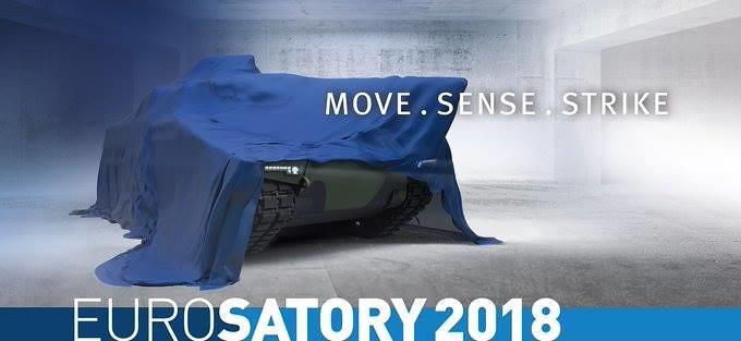 افتتاح معرض  Eurosatory 2018 الدولي للدفاع والأمن بباريس 40948935940_ca5b789b5b_b
