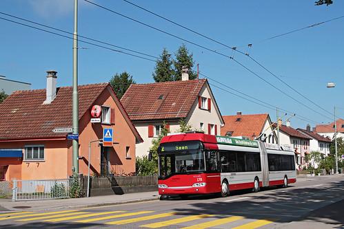 Stadtbus Winterthur Nr. 178 Langwiesen