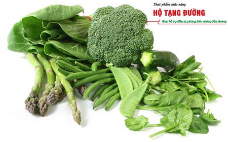 Bệnh tiểu đường nên ăn nhiều rau xanh.