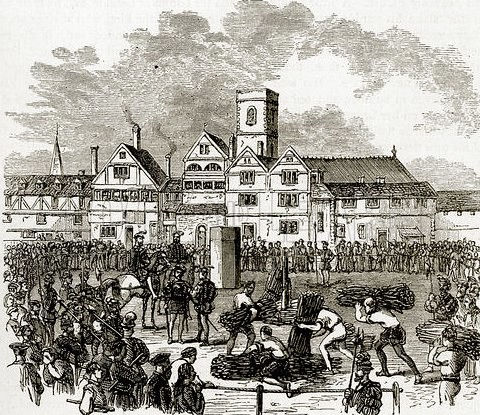 The site of executions at Od Smithfield