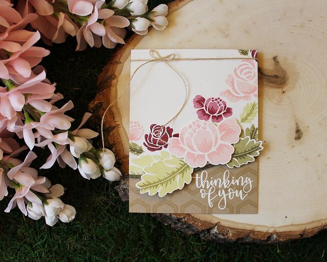 LizzieJones_SimpleToSpectacular_PapertreyInk_RosiePosie_ThinkingOfYou_Spectacular_Card_1