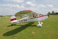 G-BTBW Cessna 120 (14220) Popham 100509