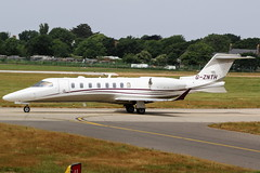 G-ZNTH Learjet 75 on 07 June 2018 Jersey