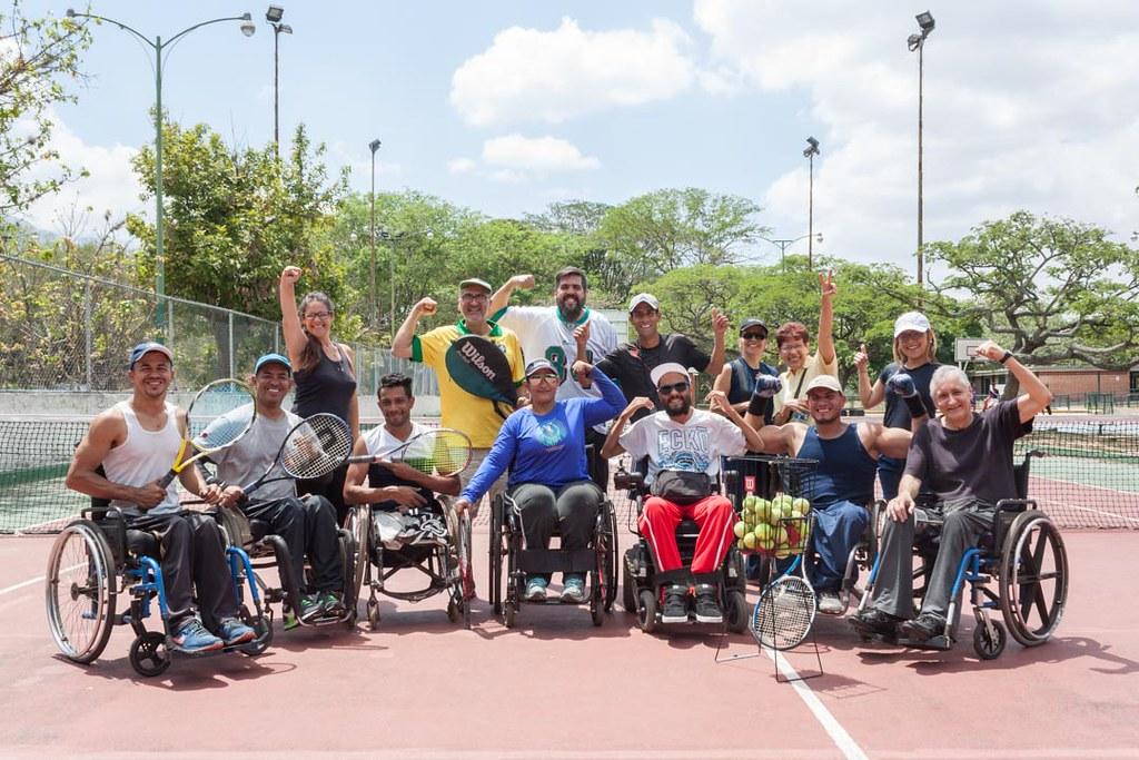 Programa de Tenis Adaptado - disCapacidad0