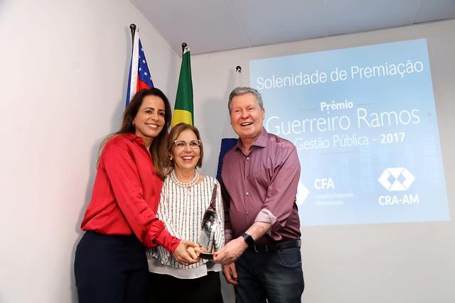 """20.06.2018 Destaque Nacional - Solenidade de premiação """"Guerreiro Ramos de Gestão Pública 2017 """""""