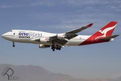 VH-OEF / Qantas / Boeing 747-438(ER)