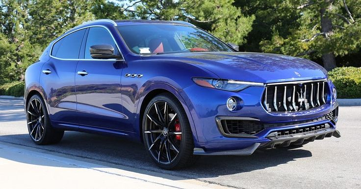 Auto Tuning : Larte Design Splashes Maserati Levante With Carbon Fiber Elements