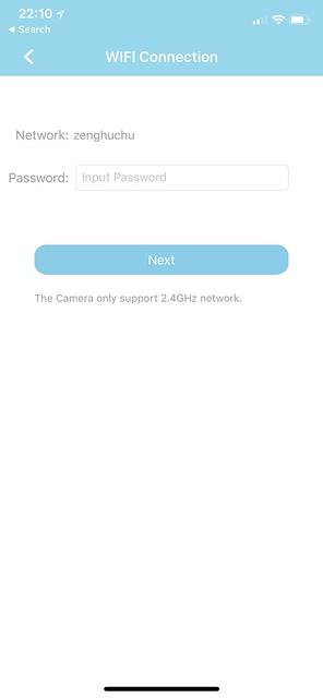 AzCam iOS App - Setup #6