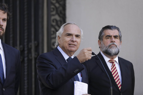 Firma de Indicaciones al Proyecto de Ley de Migración y Extranjería. 09.03.18