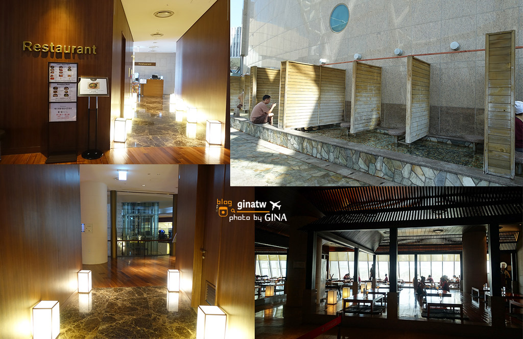 釜山汗蒸幕》新世界SPA LAND 傳統韓式溫泉、搓澡 Centum City站 스파랜드/센텀시티 @Gina Lin