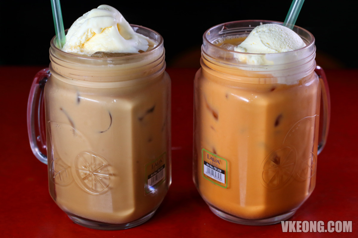 Teh Ais Nescafe Ais Float