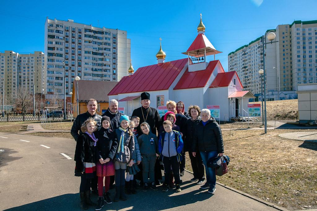 Учащиеся 3-го класса ГБОУ «Школа им. Артема Боровика» посетили храм свв. мчч. Анатолия и Протолеона в Марьине