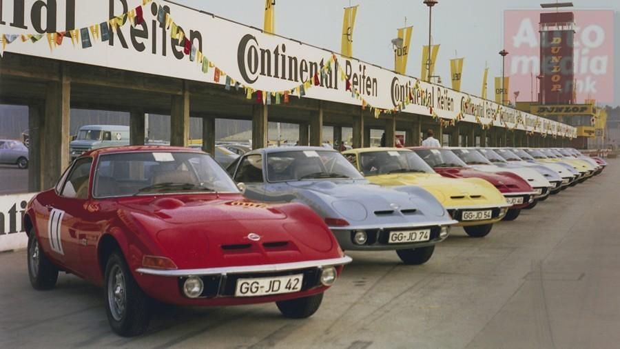 Opel GT istorija 6