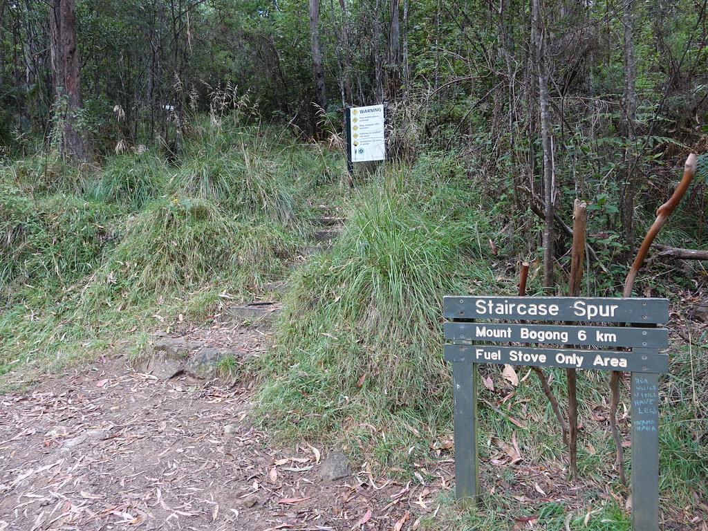 Start of Eskdale Spur Mount Bogong