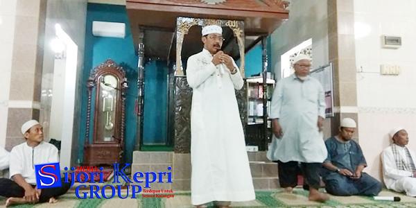 Gubernur Provinsi Kepri, Nurdin Basirun, menyampaikan kata sambutan