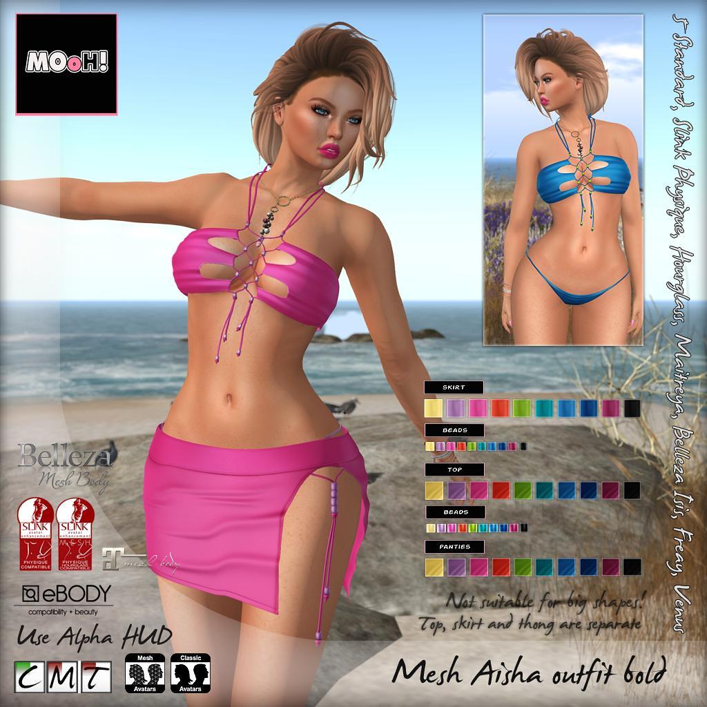 Aisha outfit bold