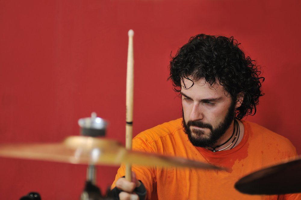 Photo of drummer