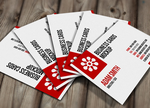 BusinessCard MockUp is a set of business cards for business PSD