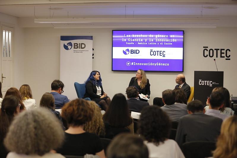 Diálogo #Innovación y Género Cotec y el BID
