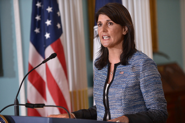 Ambassador Haley Delivers Remarks to the Press on the UN Human Rights Council