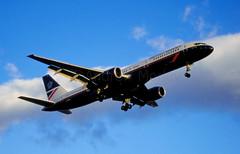British Airways Boeing 757 at LHR 1995
