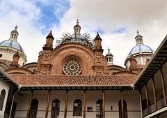 Cúpulas de la catedral de Cuenca.