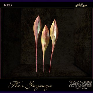 Lilith's Den -  Flora Zangarniya - red