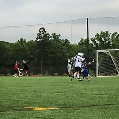Summer season lacrosse is underway. @stickwithus_lacrosse #lax #lacrosse #clt